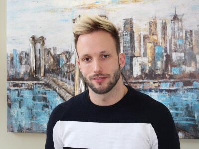 Szabó Dávid hajbeültetése